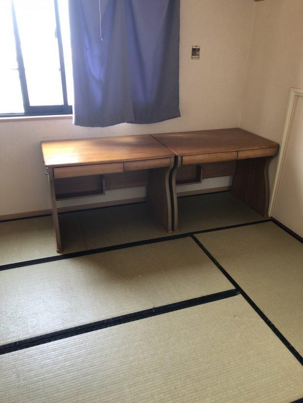 【鰺ヶ沢町】食器棚、学習机など家財道具の回収 お客様の声