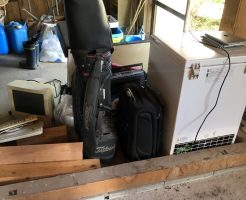【周防大島町】冷蔵庫など軽トラック1台分の不用品回収 お客様の声
