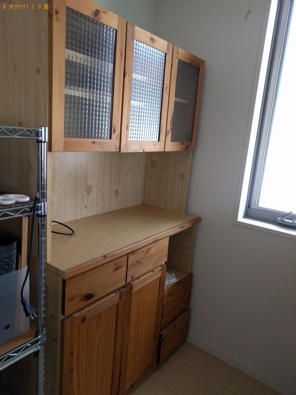 【下関市稗田中町】食器棚とソファーの処分 お客様の声