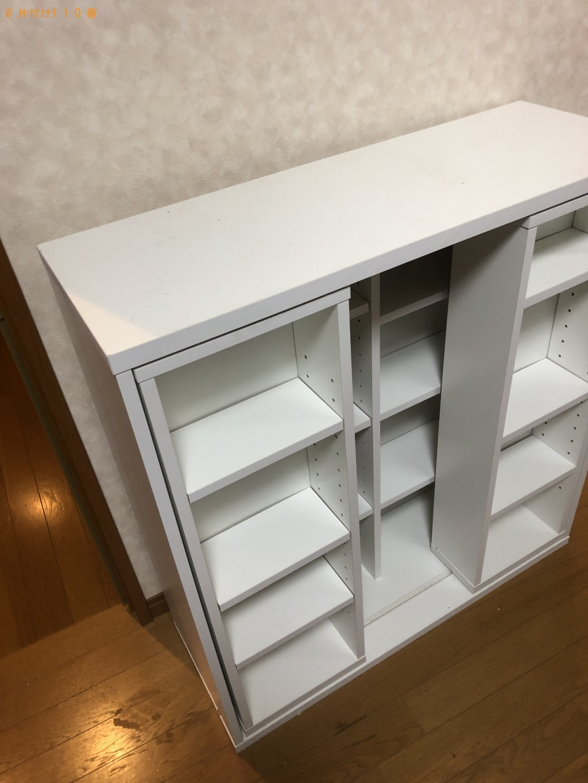 【下関市栄町】本棚・整理タンスの処分 お客様の声