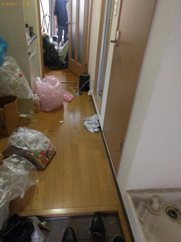 【下関市】冷蔵庫、洗濯機、ベッドの不用品回収処分 お客様の声