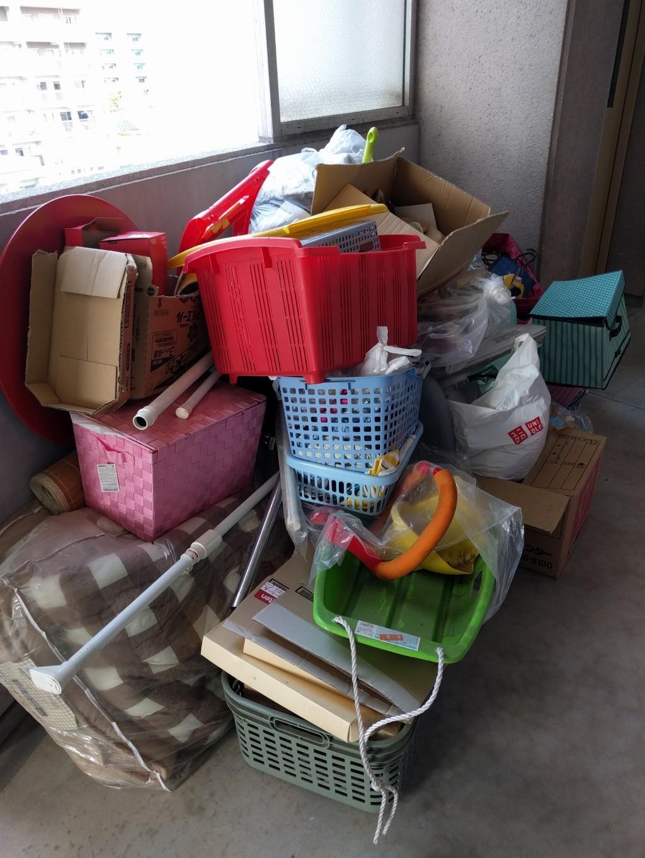 【下関市山の田北町】引越しの不用品処分 リピートで追加回収ご依頼