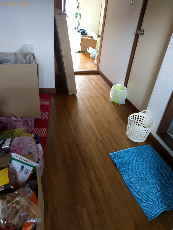 【下関市大学町】ベッドやその他細々した物の処分ご依頼 お客様の声