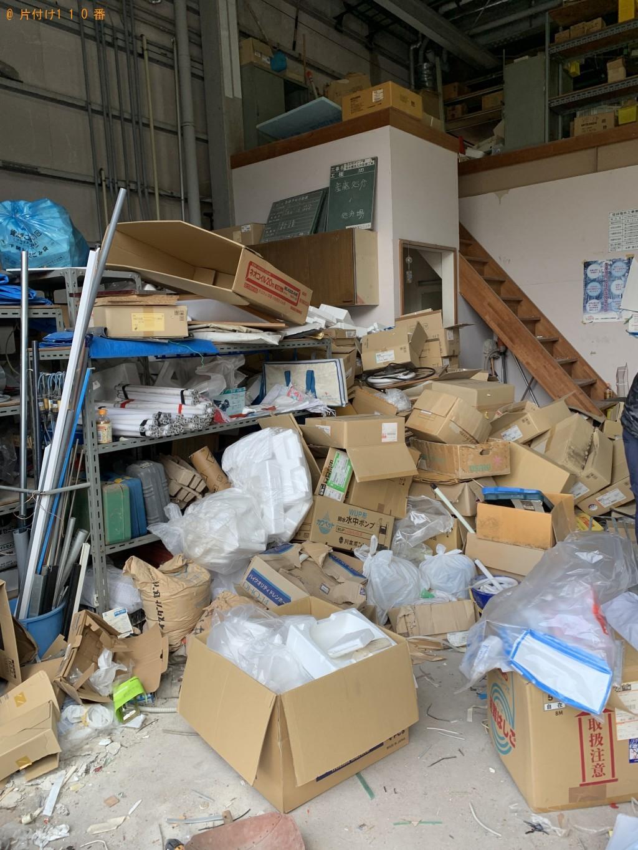 【蓬田村】倉庫内の不用品処分 お客様の声