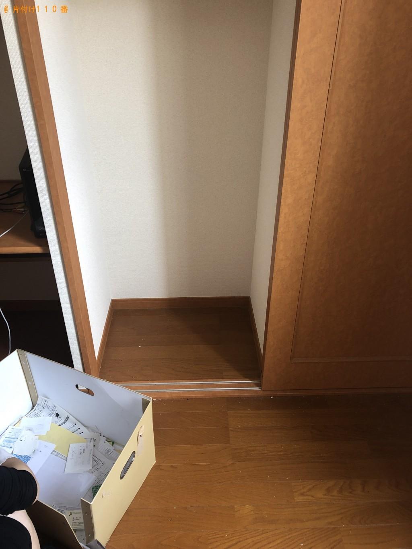 【岩国市南岩国町】折り畳みベッド、学習机などの出張不用品回収・処分ご依頼