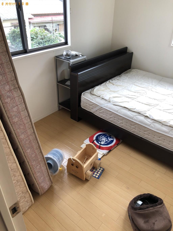【下関市伊倉町】エアコン、クイーンベッド、ダイニングテーブル等の回収・処分 お客様の声