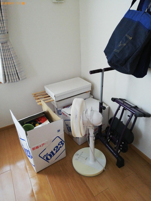 【下関市王司上町】健康器具、扇風機、家庭ごみ等の回収・処分 お客様の声