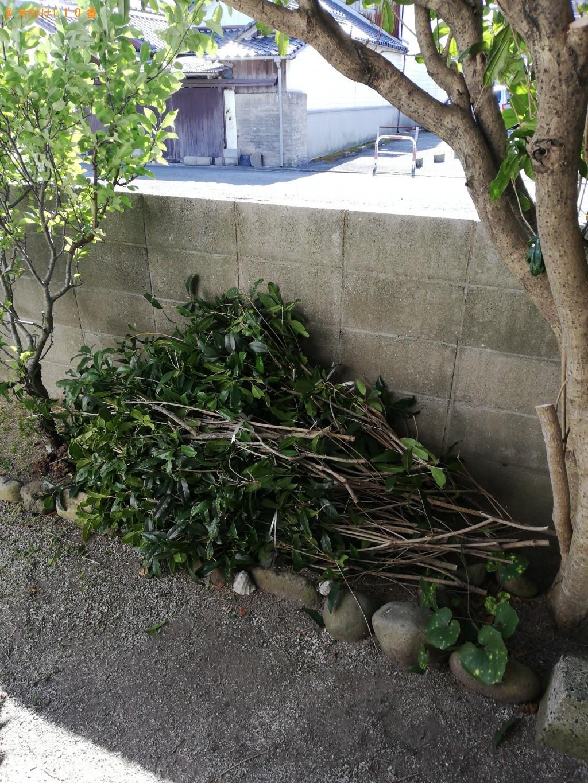 【山陽小野田市】剪定した枝木の回収・処分 お客様の声