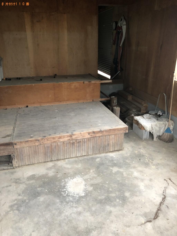 【周防大島町】自転車、折り畳み机、収納棚等の回収・処分 お客様の声