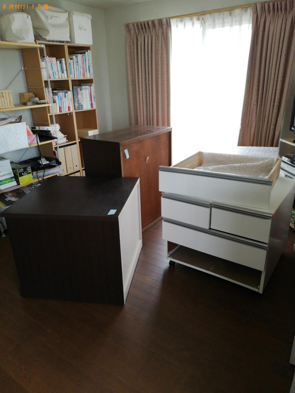 【那須塩原市】遺品整理に伴い棚と衣装ケースの回収・処分 お客様の声