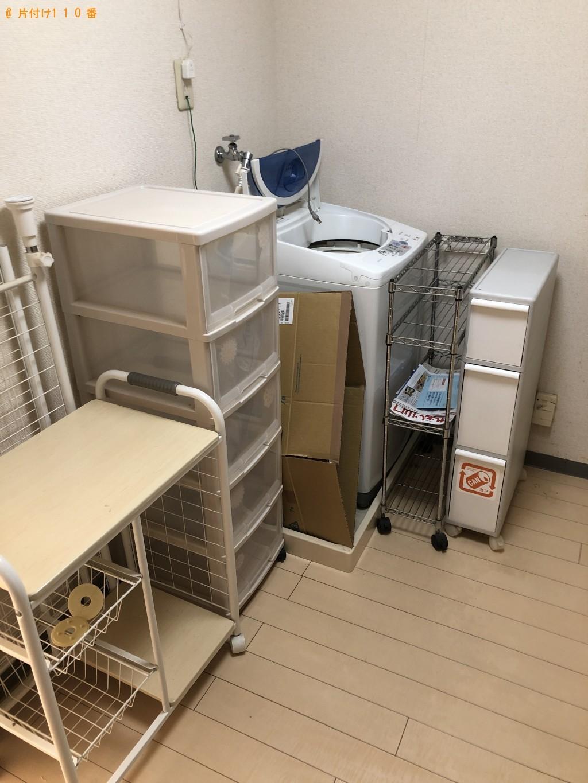 【下関市宮田町】シングルベッド、冷蔵庫、洗濯機等の回収・処分 お客様の声