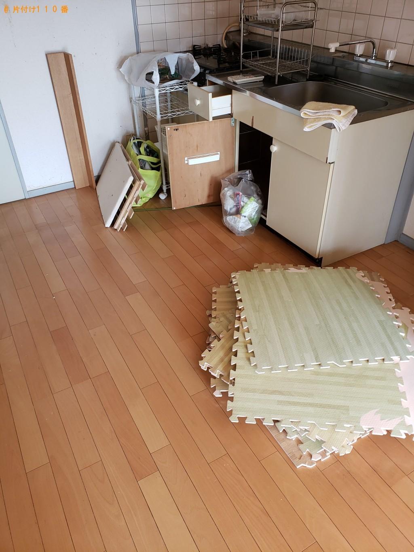 【下関市綾羅木南町】エアコン、ガスコンロ、収納ラック等の回収・処分 お客様の声