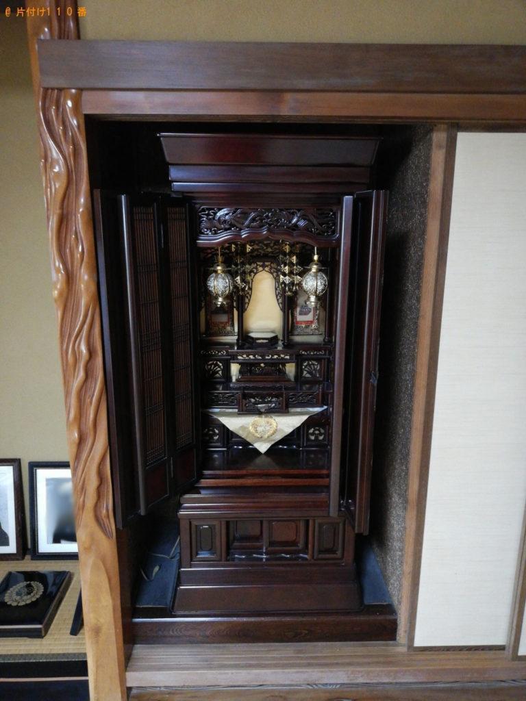 仏壇・神棚のご供養回収ご依頼 お客様の声