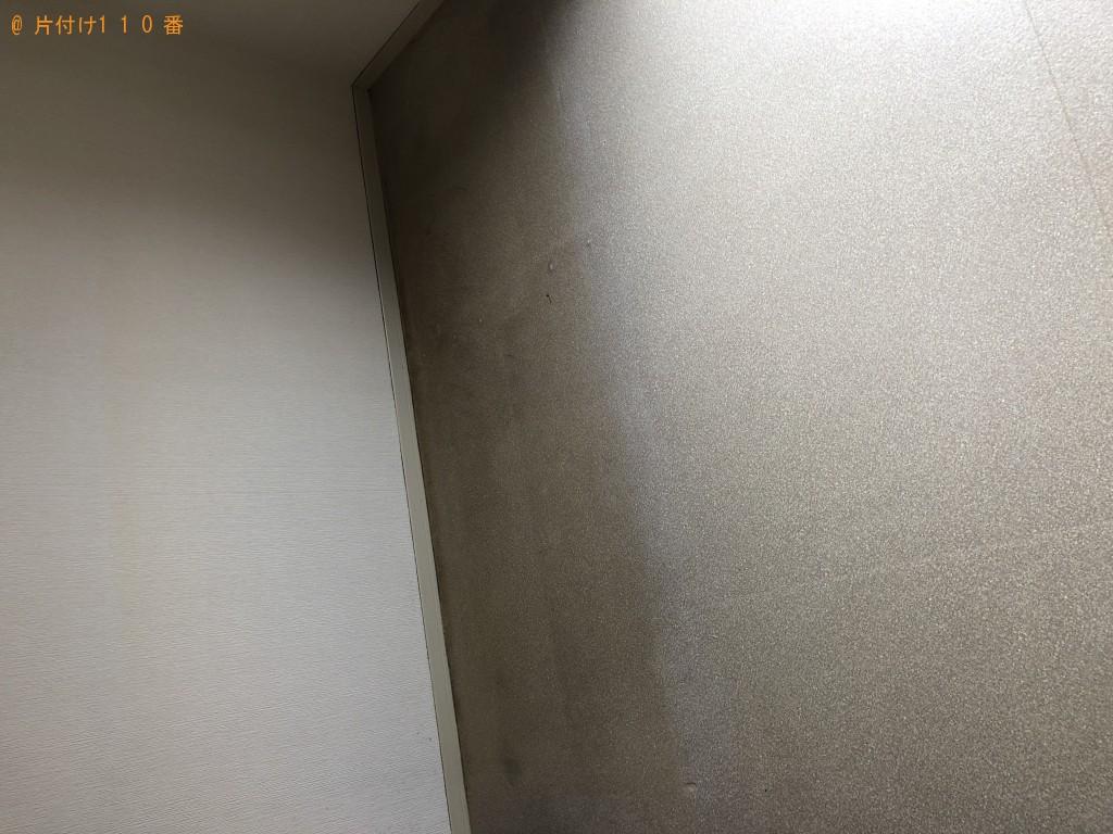 【長門市】玄関から出にくい…とお困りのソファー処分希望のお客様