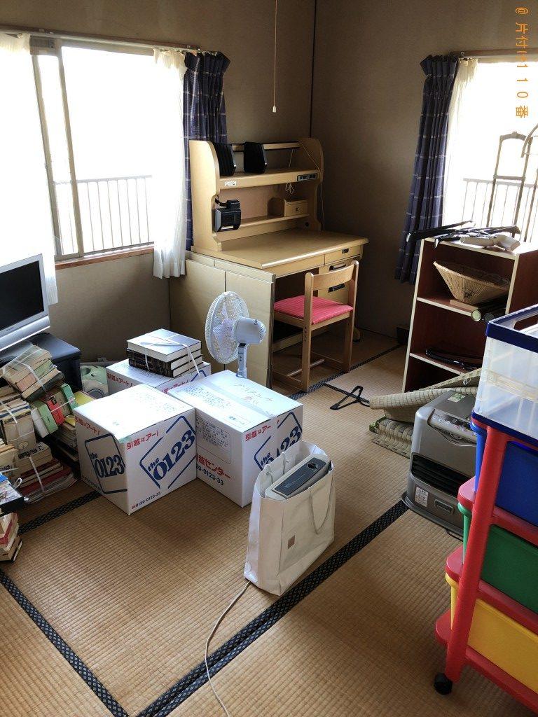 【周南市】ボール、食器棚、戸棚、学習机等の回収・処分ご依頼