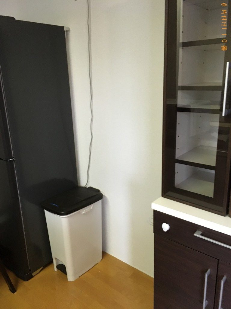 【下関市伊倉本町】食器棚、食器洗い乾燥機等の回収・処分ご依頼