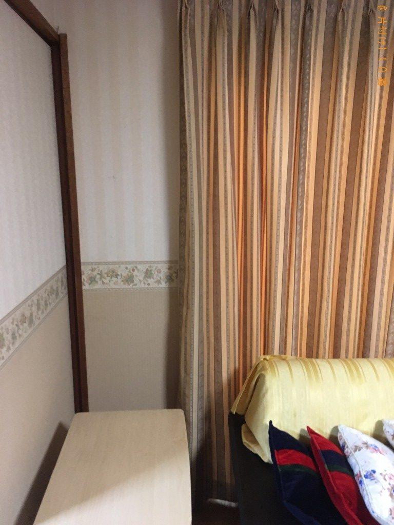 【下関市秋根東町】こたつ、シングルベッド、PCデスク等の回収