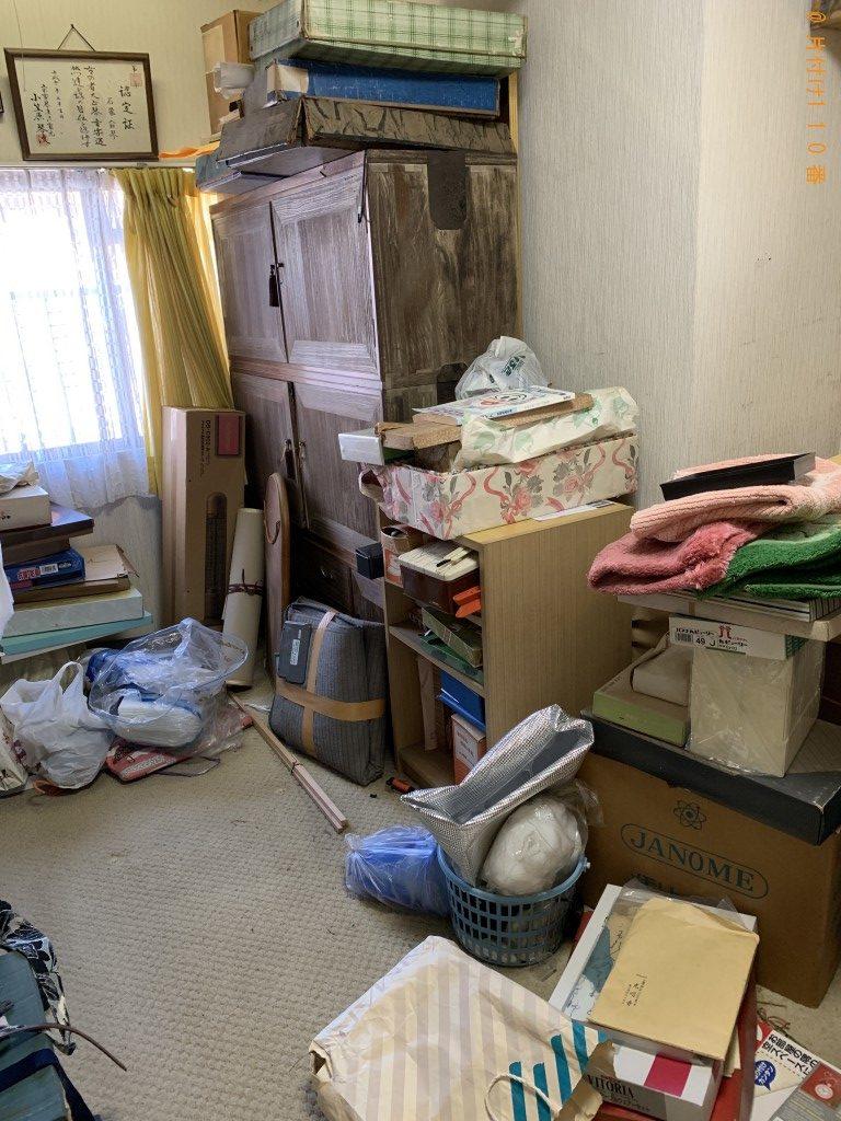 【下関市】冷蔵庫、ドレッサー、整理タンス、布団等の回収・処分