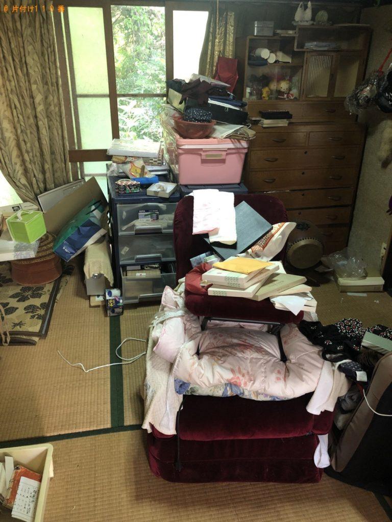 【佐々町】洗濯機、扇風機、布団、タンス等の回収・処分ご依頼