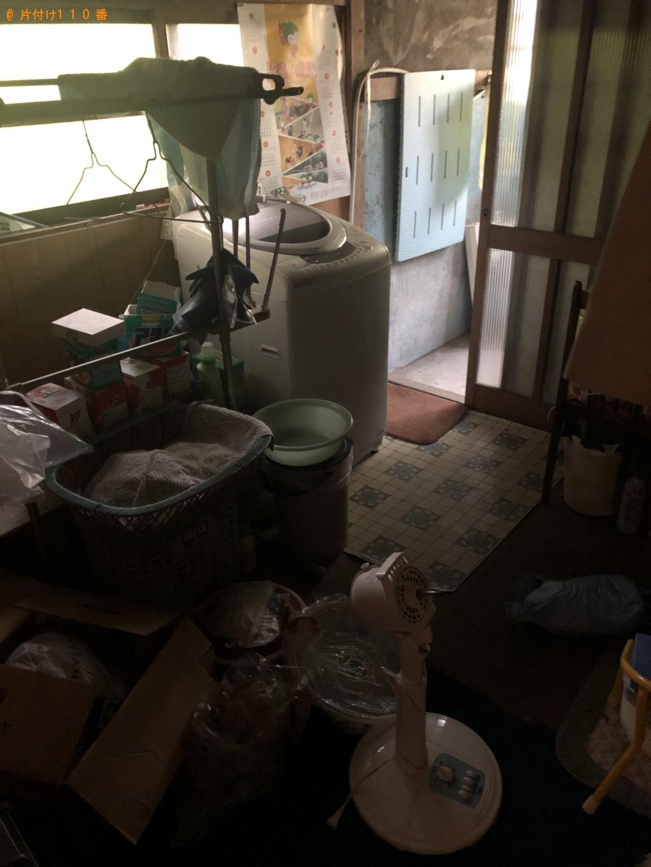 熊毛郡】洗濯機、扇風機、布団、タンス等の回収・処分ご依頼