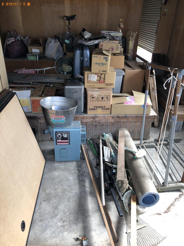 【周防大島町】2tトラック1台程度の出張不用品の回収・処分ご依頼