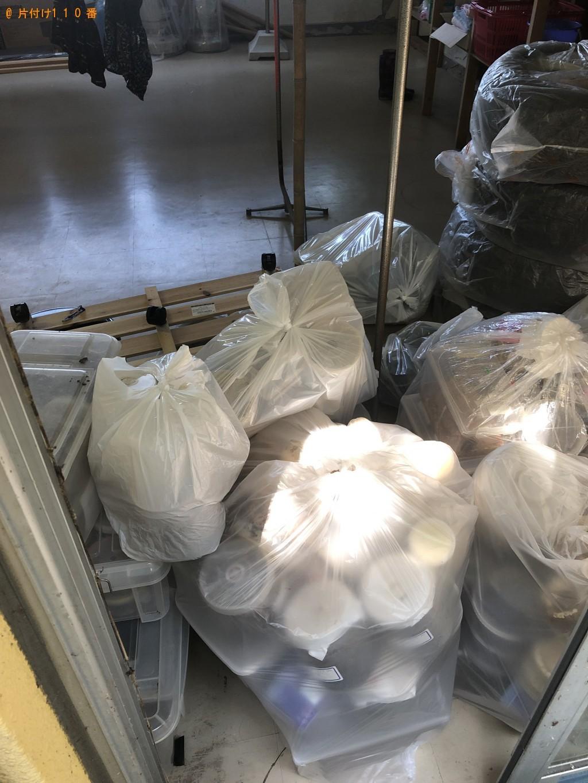 【下松市】衣装ケース、クワガタの幼虫飼育用のボトル等の回収・処分