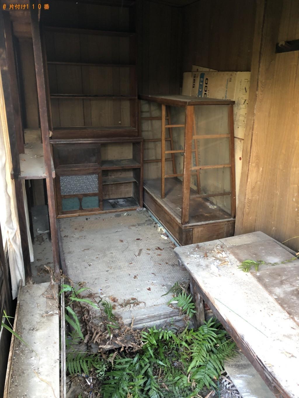 【熊毛郡田布施町】整理タンス、カウンターテーブル、布団等の回収
