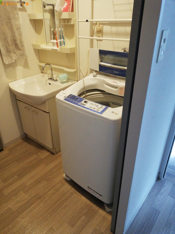 【山口市】冷蔵庫、洗濯機、カラーボックス等の回収・処分ご依頼