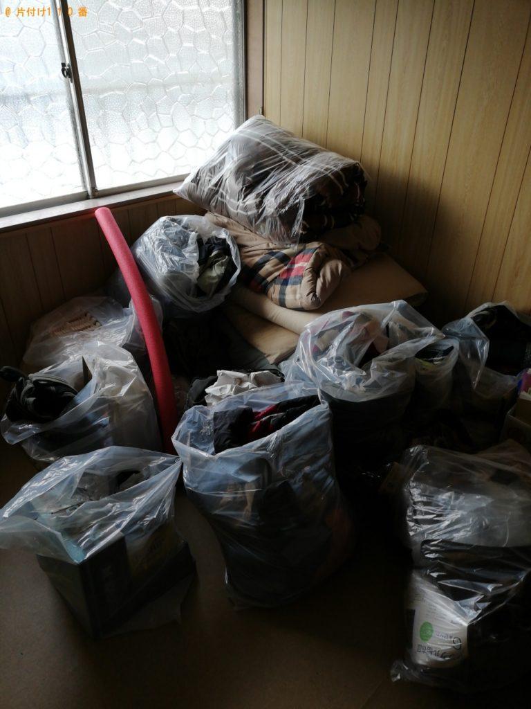 【壱岐市】洗濯機、食器棚、布団、スーツケース等の回収・処分ご依頼