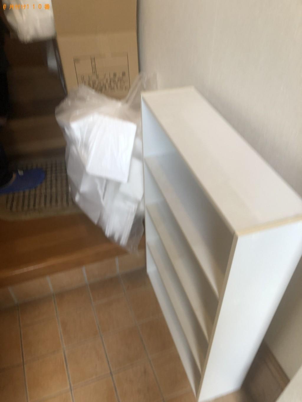 【防府市】扇風機、ローテーブル、カラーボックス等の回収・処分
