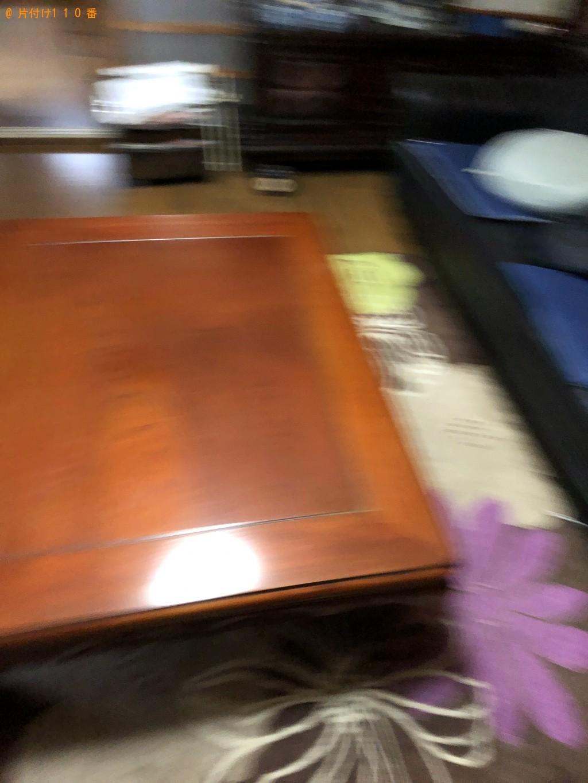 【下関市長府松小田西町】布団、陶器、レンガ、ブロック等の回収