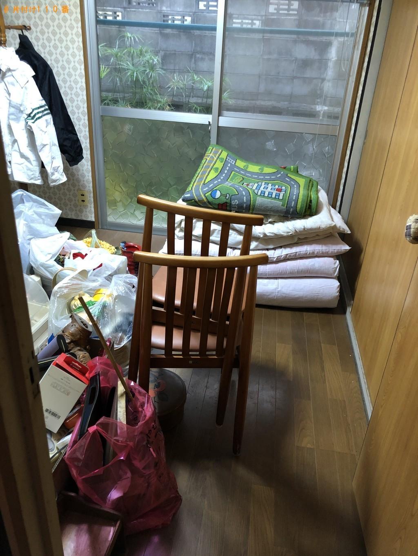【塩尻市】遺品整理で布団、陶器、レンガ、ブロック等の回収