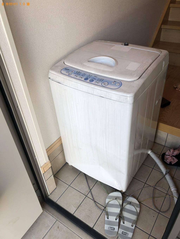 【山口市】洗濯機の回収・処分ご依頼 お客様の声