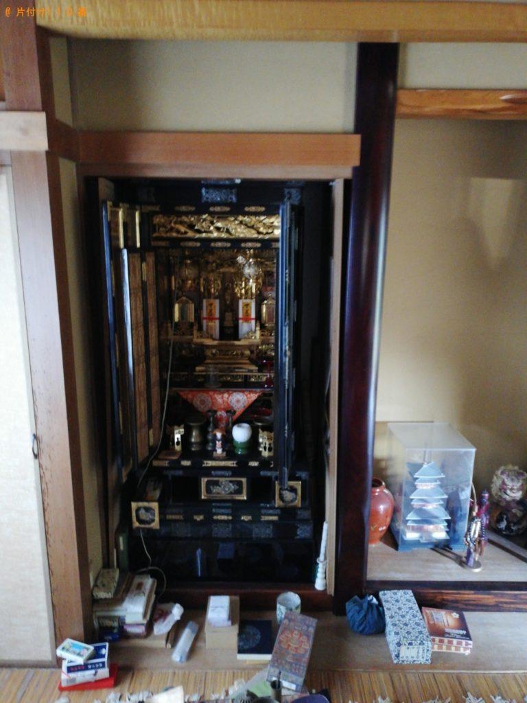 仏壇の回収・処分ご依頼ご依頼 お客様の声