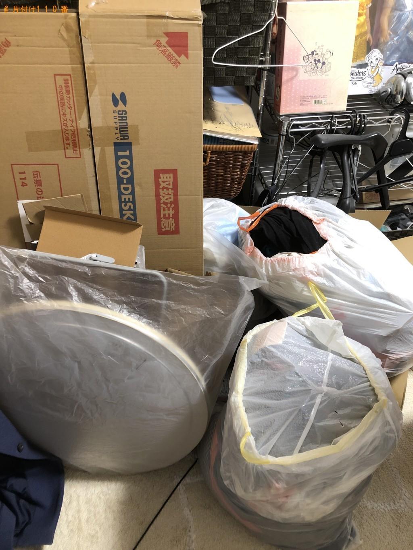 【下関市秋根上町】照明、分別なし衣類、ダンボールの回収・処分