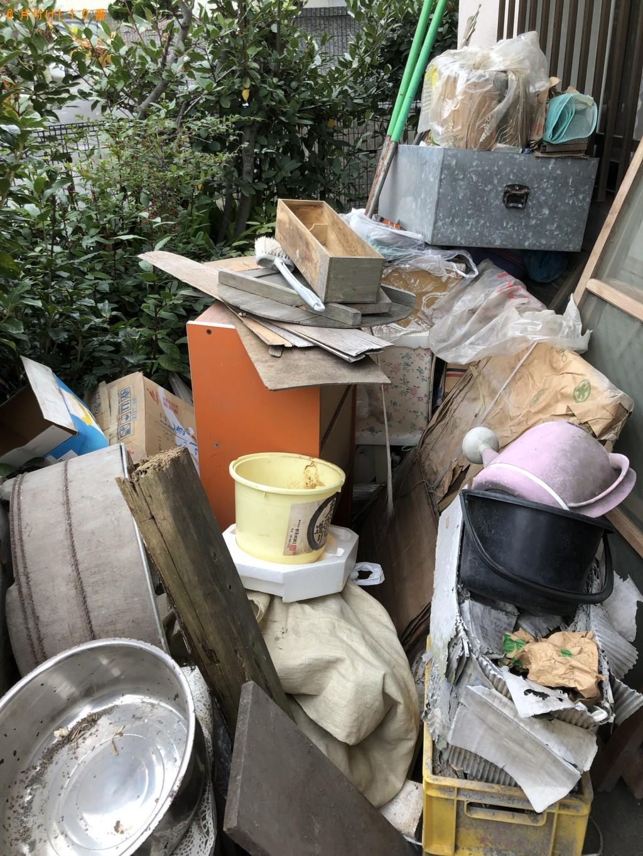 【下関市大学町】炊飯器、タライ、じょうろ、バケツ等の回収・処分