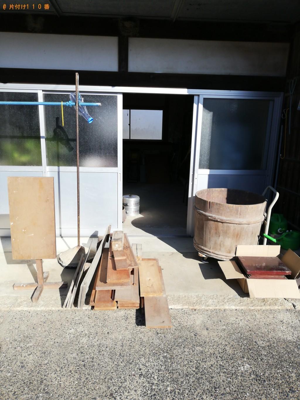 【山陽小野田市】軽トラック1台程度の出張不用品の回収・処分ご依頼