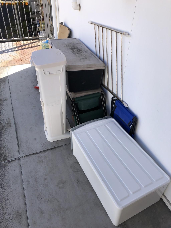 【下野市】遺品整理に伴いテレビ、ガスコンロ、衣装ケース、布団の回収・処分ご依頼