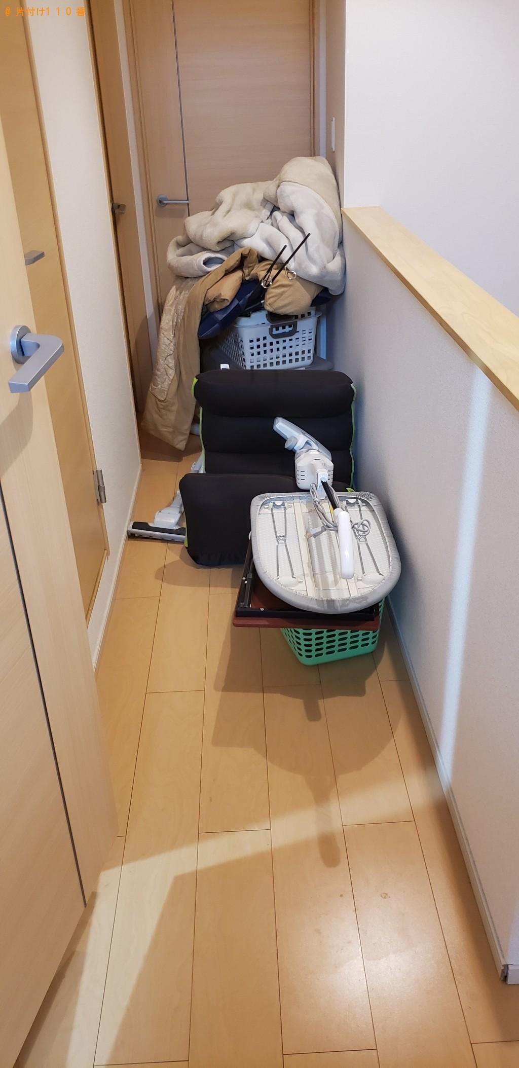 【山陽小野田市】冷蔵庫、洗濯機、カラーボックス、本の回収・処分