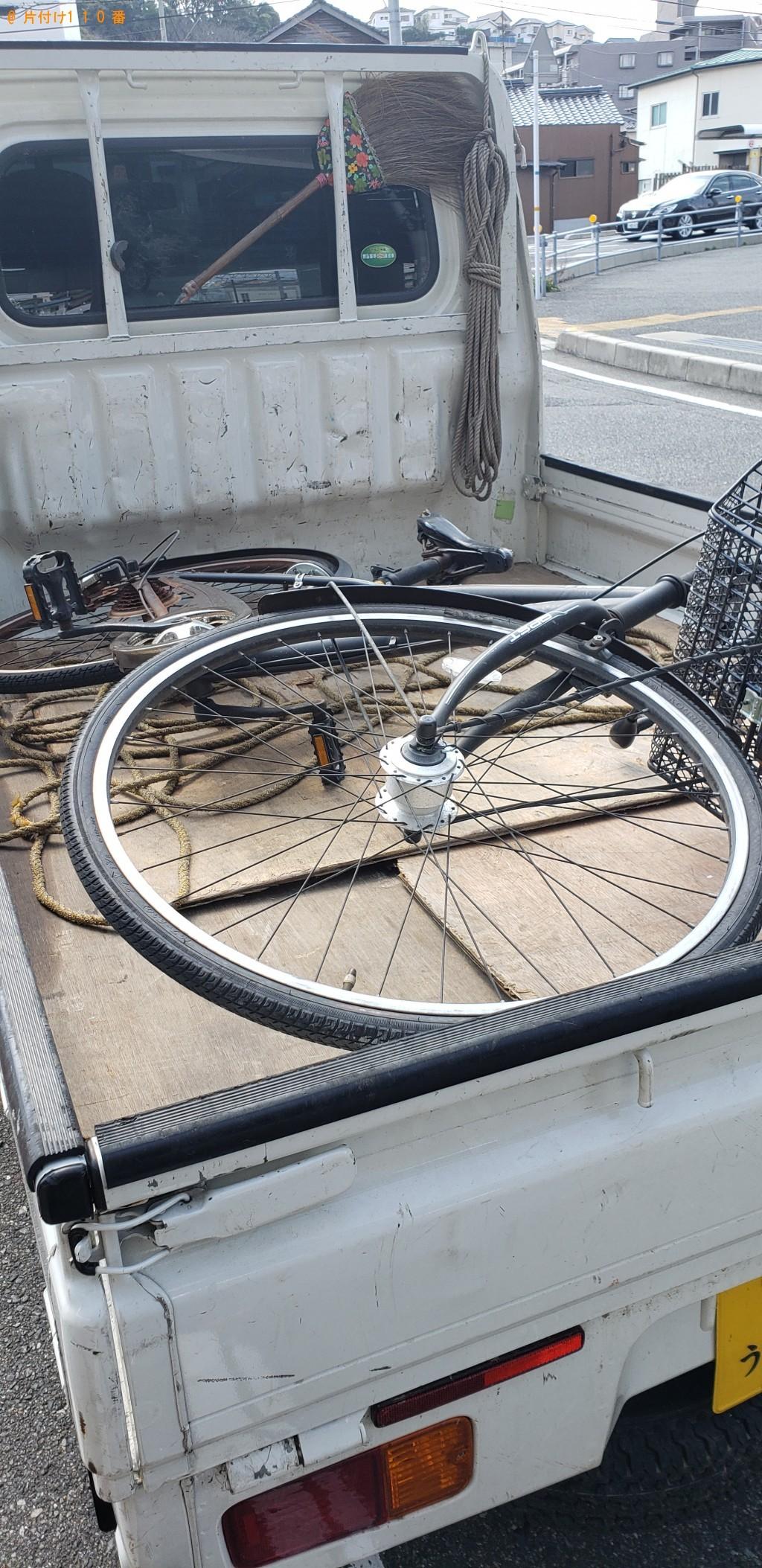【下関市】自転車の回収・処分ご依頼 お客様の声