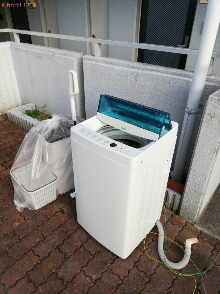 【美濃加茂市】遺品整理に伴い洗濯機、掃除機の回収・処分ご依頼 お客様の声