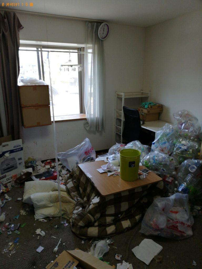 【平戸市】カラーボックス、こたつ、分別していない家庭ごみ等の回収