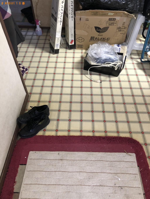 【下関市】テレビ、こたつ、衣装ケース、椅子、アンテナ等の回収