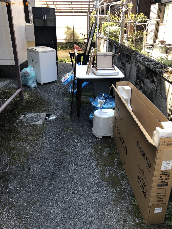【光市】冷蔵庫、洗濯機、食器棚などの回収・処分 お客様の声