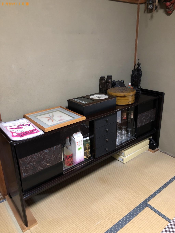【白岡市】テレビ台、布団、収納ケース等の回収・処分ご依頼