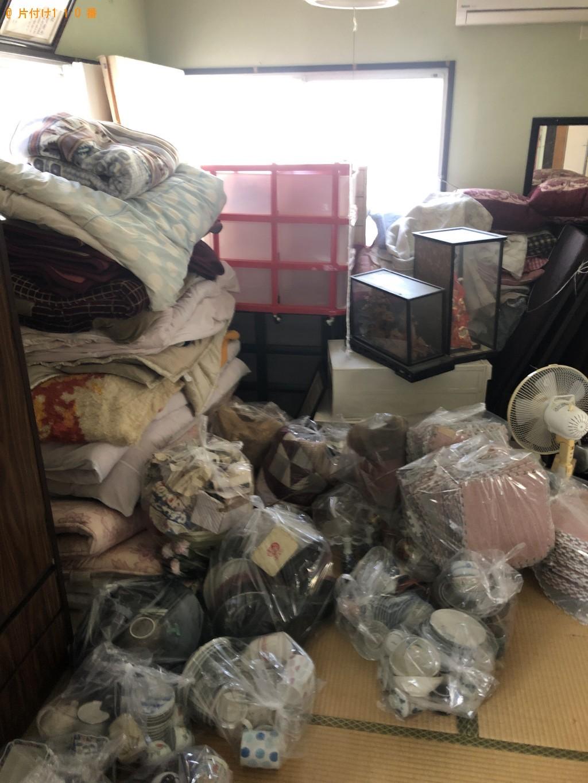 【下松市】タンス、布団、ガラスケース入りの人形等の回収・処分
