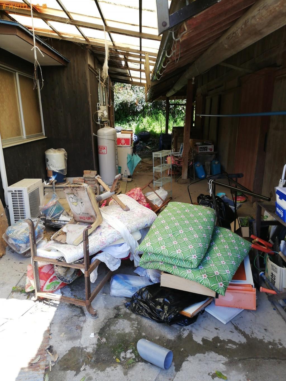 【長門市】軽トラック1台程度の出張不用品の回収・処分ご依頼