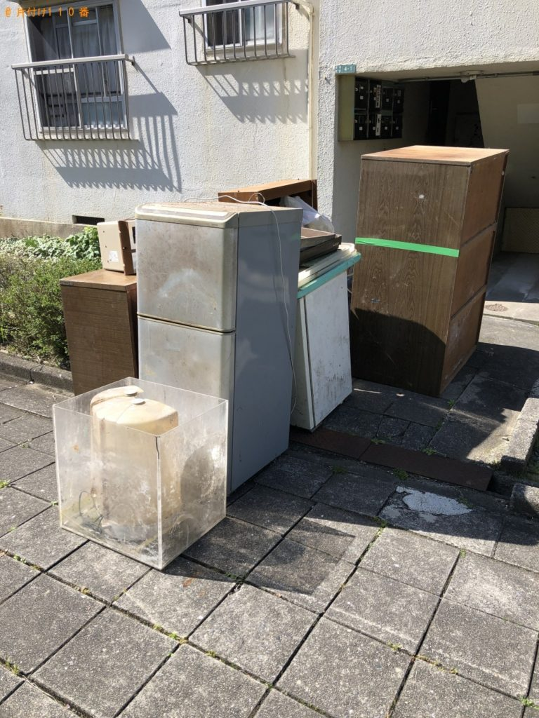 【五島市】2tトラック1台程度の出張不用品の回収・処分ご依頼