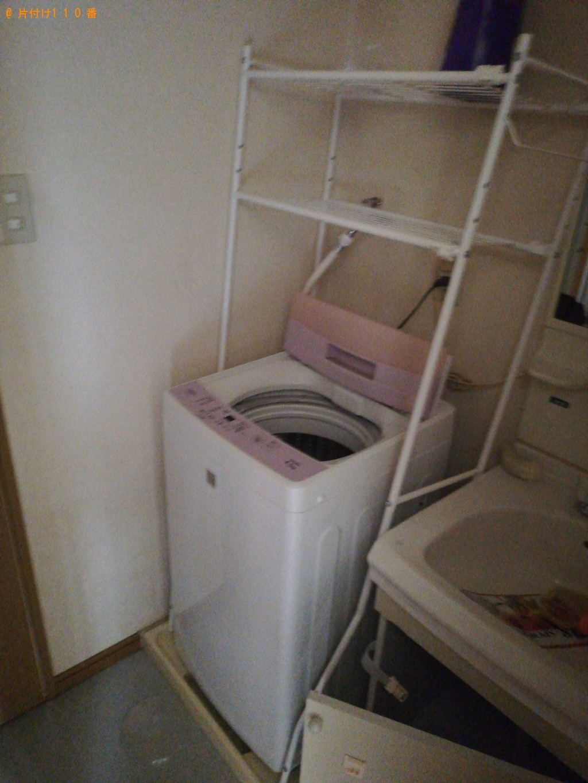 【山口市】冷蔵庫、洗濯機、食器棚、ダイニングテーブル等の回収