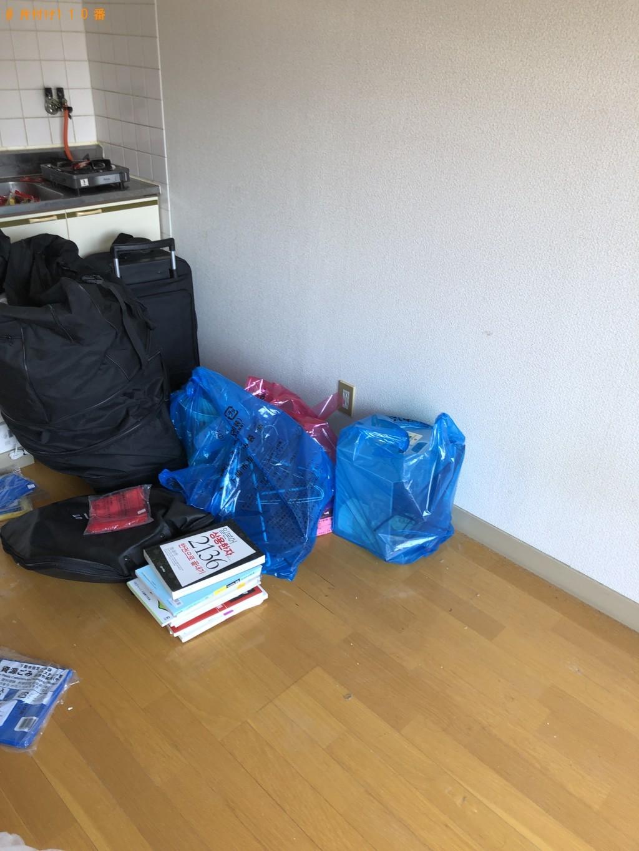 【下関市一の宮町】冷蔵庫、テレビ、本棚、折り畳みベッド等の回収